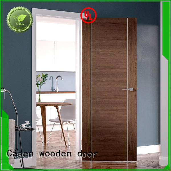 solid wood interior doors classic soundproof door Casen Brand