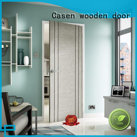 chic interior wood doors solid wood for hotel Casen