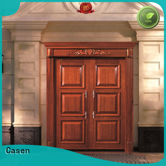 Casen Brand double antique outside contemporary entry doors
