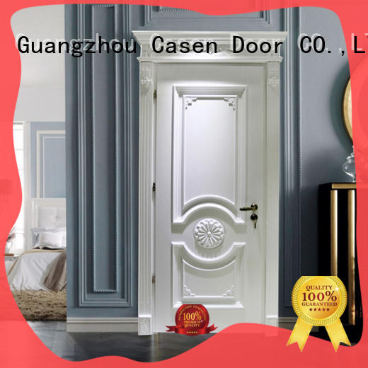 Modern easy fashion French design single luxury wooden doors  JS-9002A
