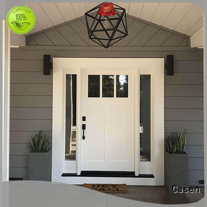 Casen ODM front door with sidelights new arrival for dining room