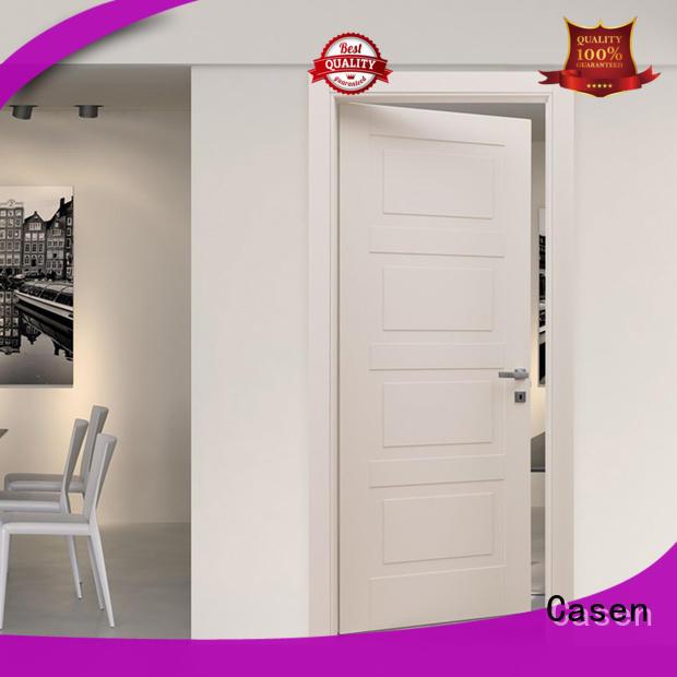 grey composite doors wooden for washroom Casen