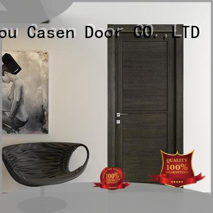 Casen white wood 4 panel doors easy for bathroom