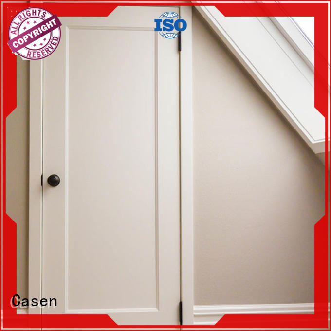 Casen new arrival solid core mdf interior doors easy installation for dining room