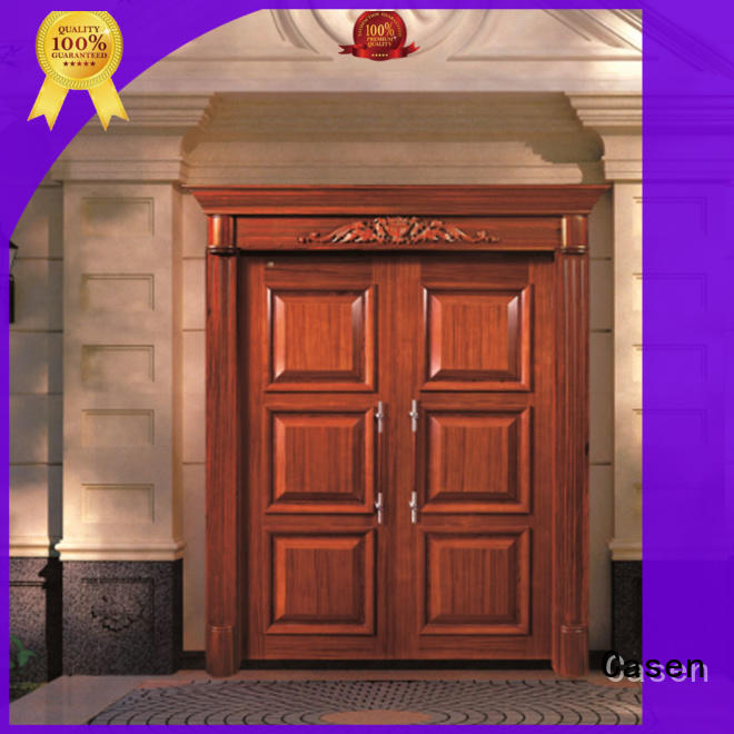 Casen wooden oak doors archaistic style for house