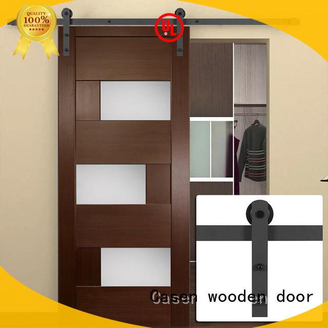 mdf barn door space glass Casen Brand internal sliding doors