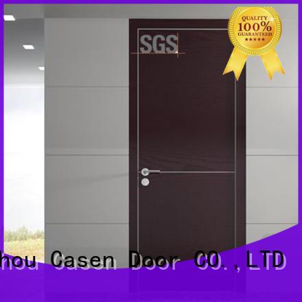Casen durable modern wooden door design at discount for shop