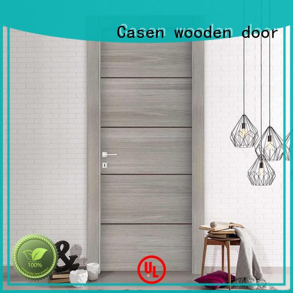 modern white Casen Brand bathroom doors