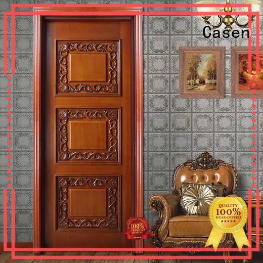 wooden internal wooden doors modern for store decoration