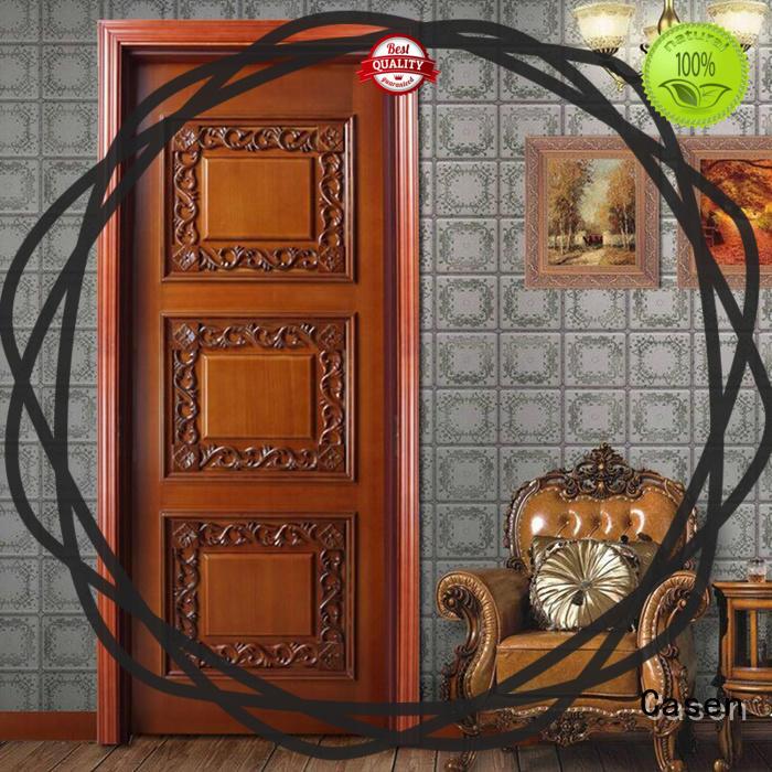 Casen wooden internal glazed doors modern for bathroom