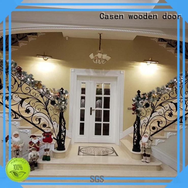 Casen wooden oak doors fashion for store