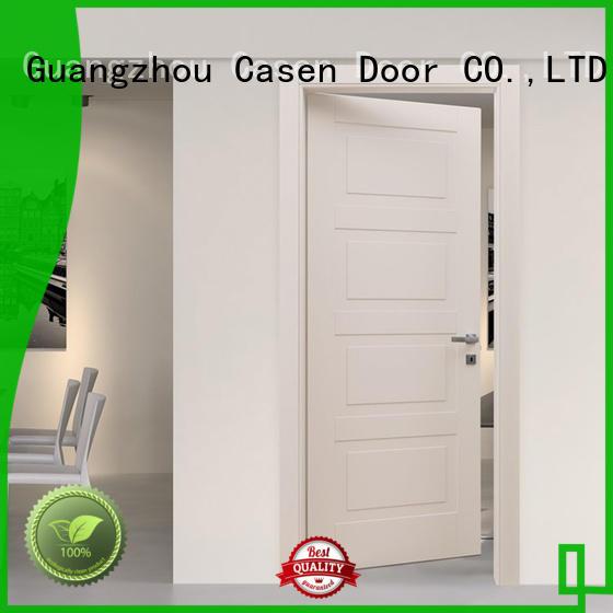 simple Custom design white 4 panel doors Casen style