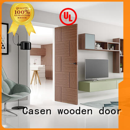 high quality hardwood doors natural for store Casen