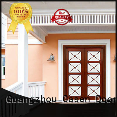 Casen exterior wood doors fashion for house