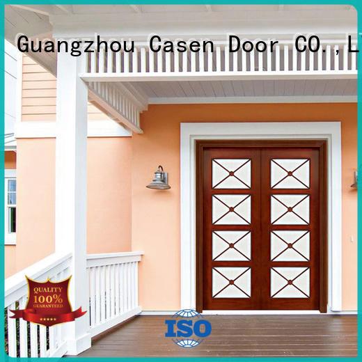 iron modern exterior doors luxury design for store Casen