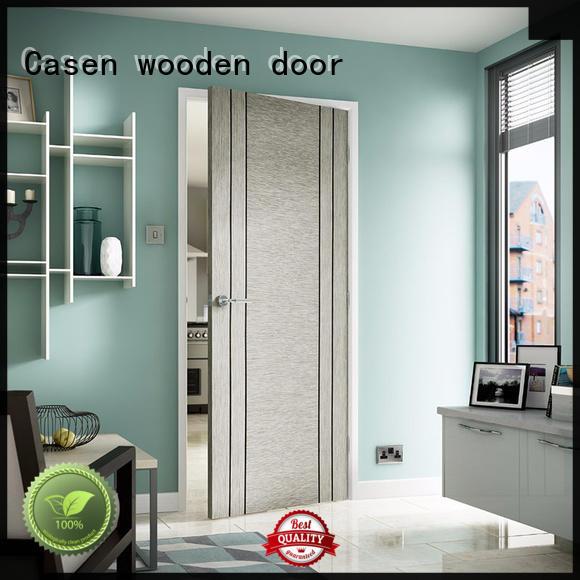 aluminium hardwood doors high quality stainless steel for washroom