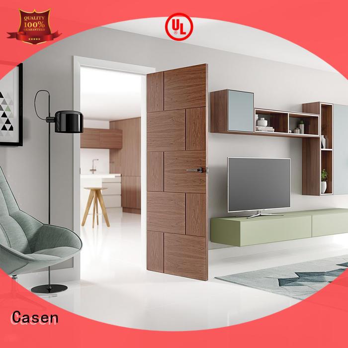 Casen high-end solid wood door at discount for washroom