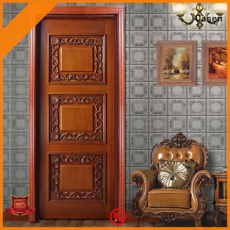 Casen wooden fancy doors modern for store decoration
