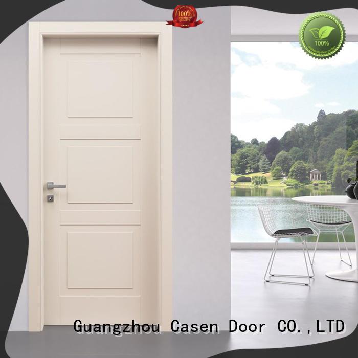 Casen high quality composite wood door simple style for bedroom
