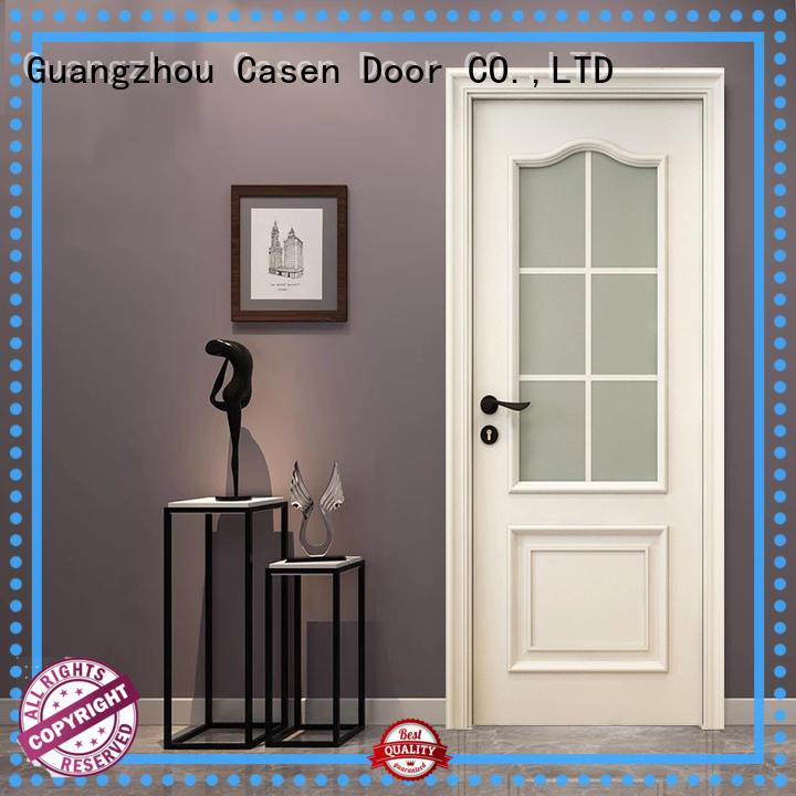 Casen wooden solid wood interior doors french design for bathroom