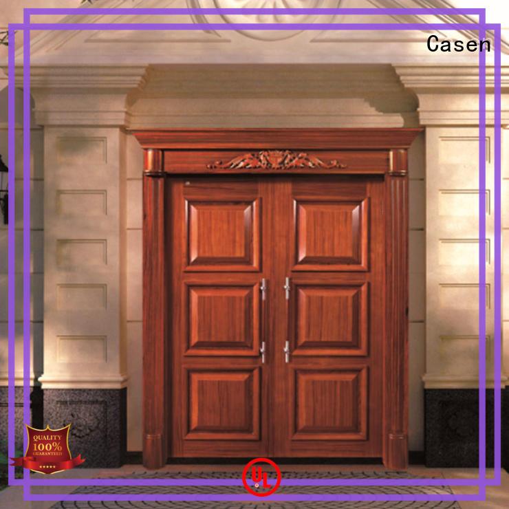 Casen beautiful oak doors main for villa