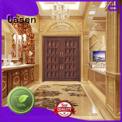Casen beveledge contemporary exterior doors wooden for villa