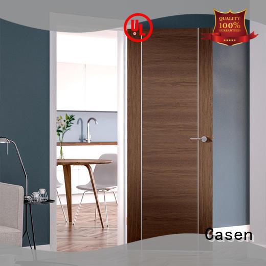 aluminium solid wood interior doors for bathroom