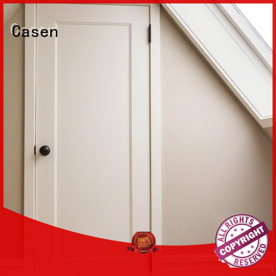 solid core mdf interior doors wood bedroom Casen Brand