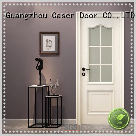 Casen white color fancy doors easy for bedroom