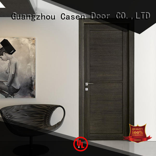 Casen wooden modern composite doors easy for bathroom