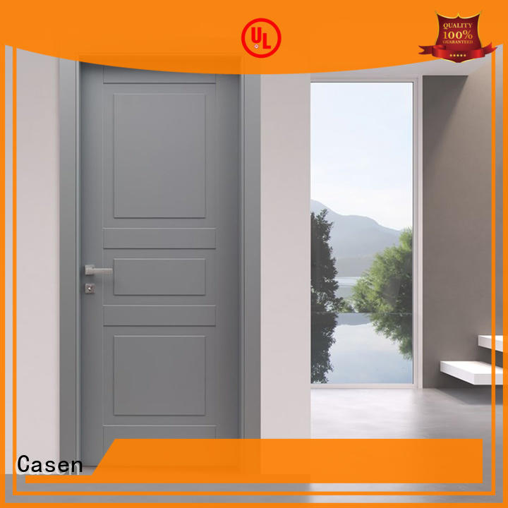 design style 4 panel doors gray Casen