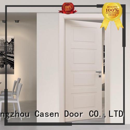 Hot plain 4 panel doors wood wooden Casen Brand