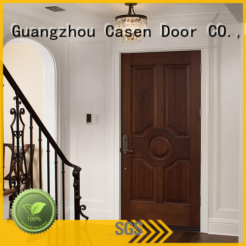 Casen high-end solid core mdf doors wholesale for bedroom