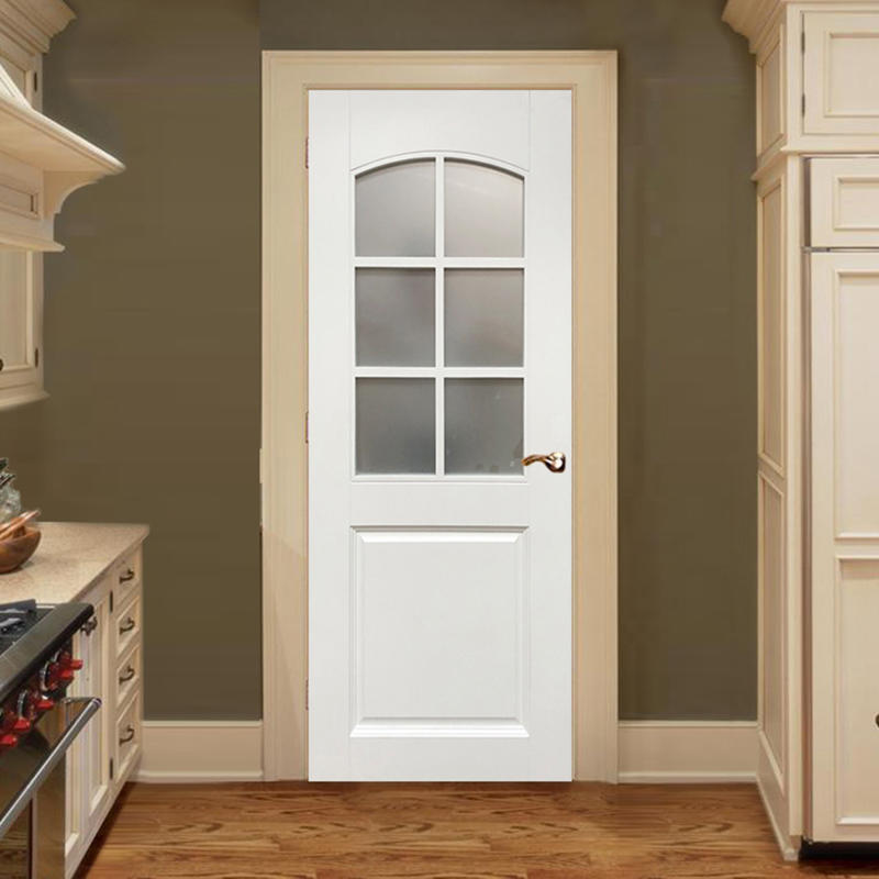 Casen white color luxury wooden doors modern for bedroom-2