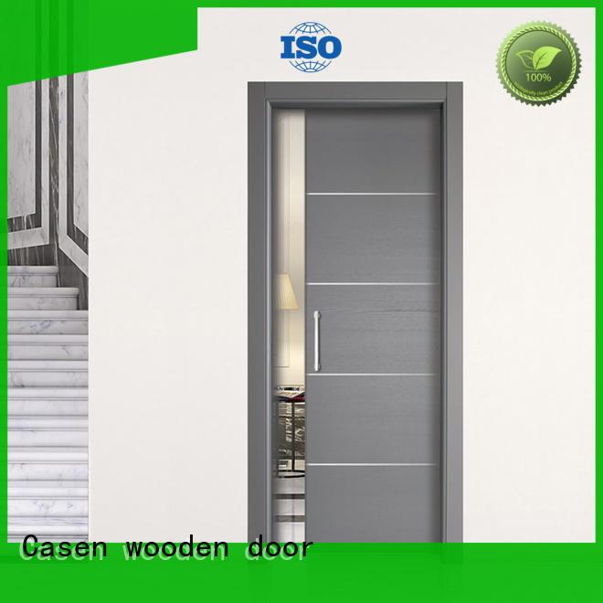top brand wood bathroom doors glass aluminium for bathroom Casen