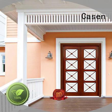 Casen iron modern entry doors fashion for house