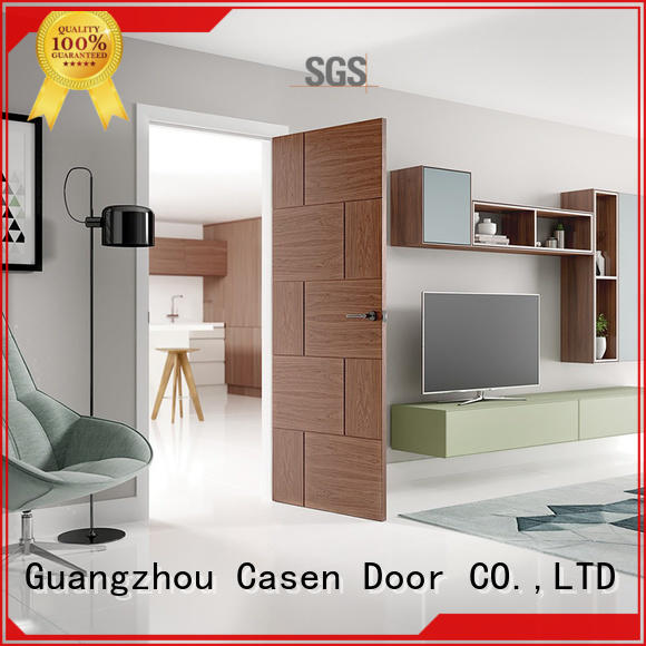 classic aluminium soundproof door wood Casen Brand