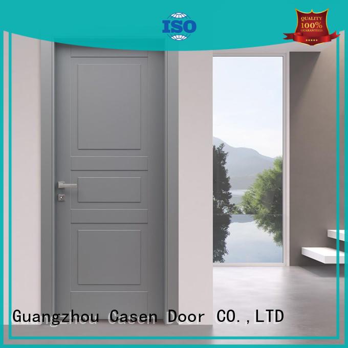 easy color wood Casen Brand best composite doors manufacture