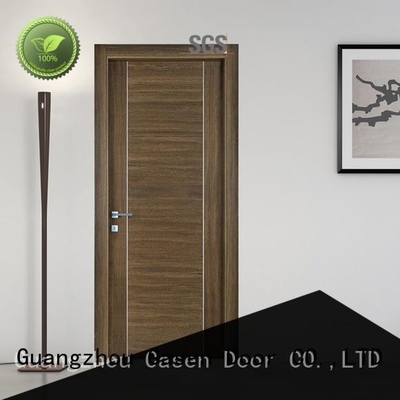 ODM solid wood door stainless steel for shop