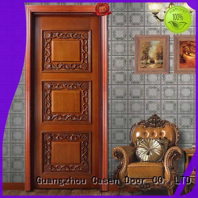Casen carved flowers american doors french design for living room