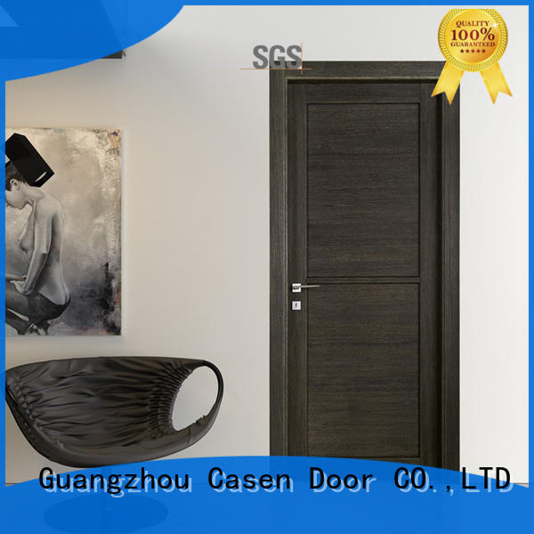 Casen plain composite door wooden for washroom