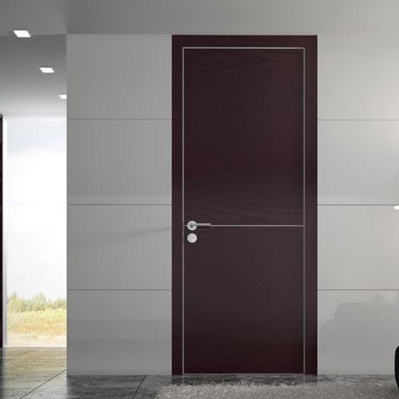 Simple design,easy style wood for dark interior wood door JS-2001A-3