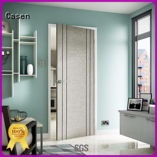 Casen soundproof solid wood door solid wood for washroom