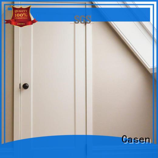 Casen mdf doors wholesale for washroom