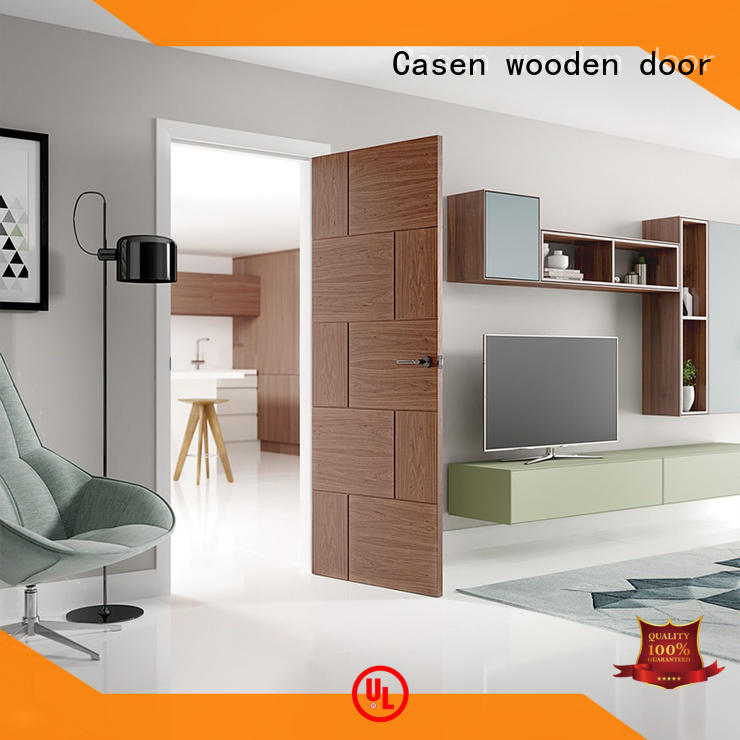 Casen OEM how much does a wood front door cost? manufacturer for hotel