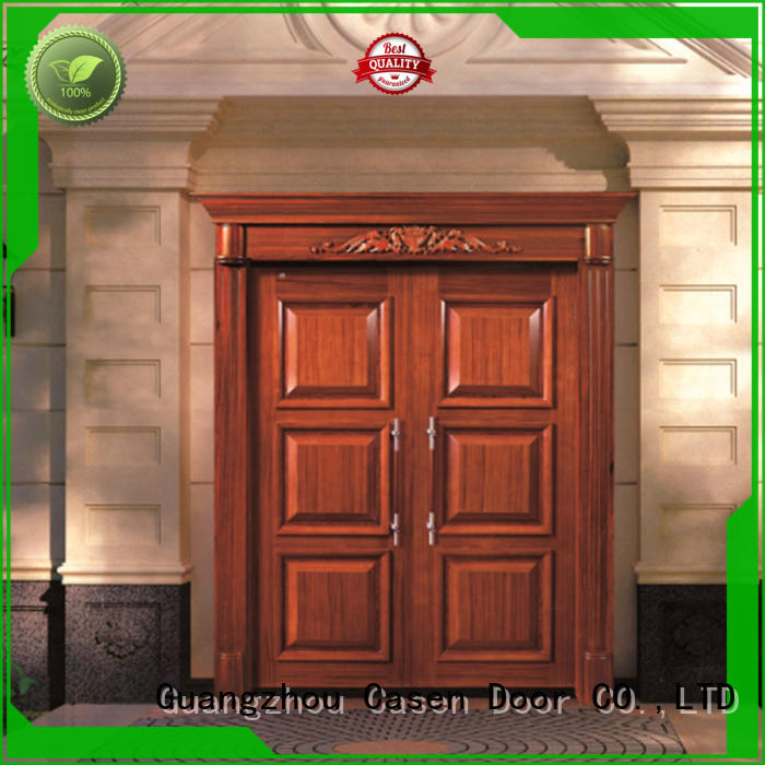 antique carved Casen Brand contemporary entry doors factory