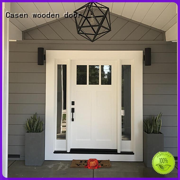 Quality Casen Brand flower glass hdf doors
