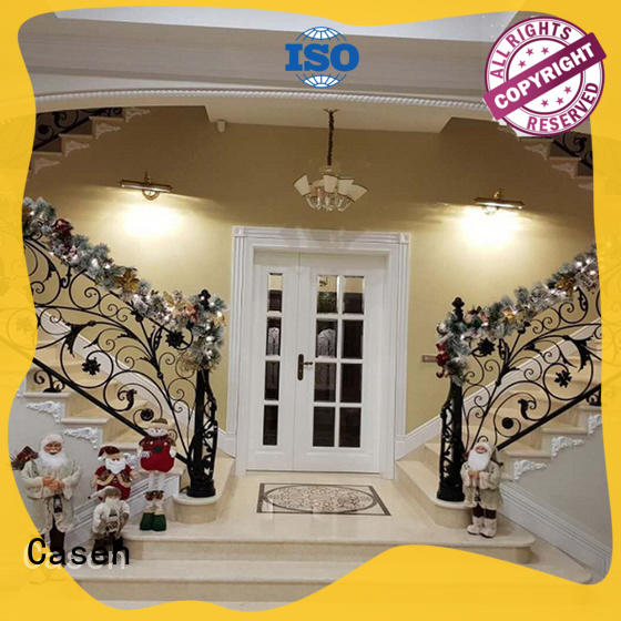 Casen outside solid wood front doors antique for store