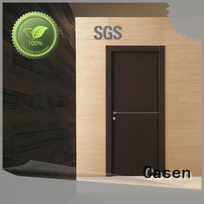 Casen high quality white internal doors stainless steel for bathroom