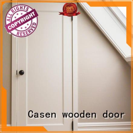 mdf interior doors durable easy installation for washroom